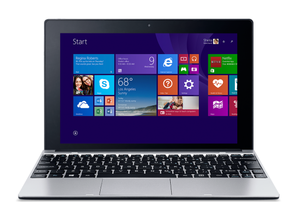 Acer One 10 Notebook Mode
