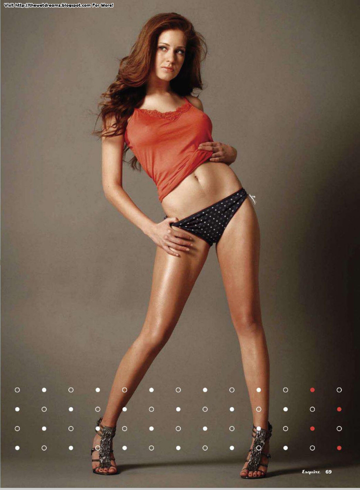 Carmen Aub Poses For Mexico - The Wet DreamZ