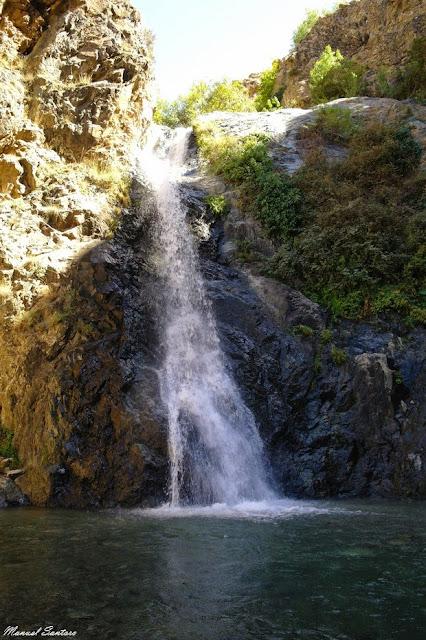 Valle dell'Ourika, cascata, secondo salto