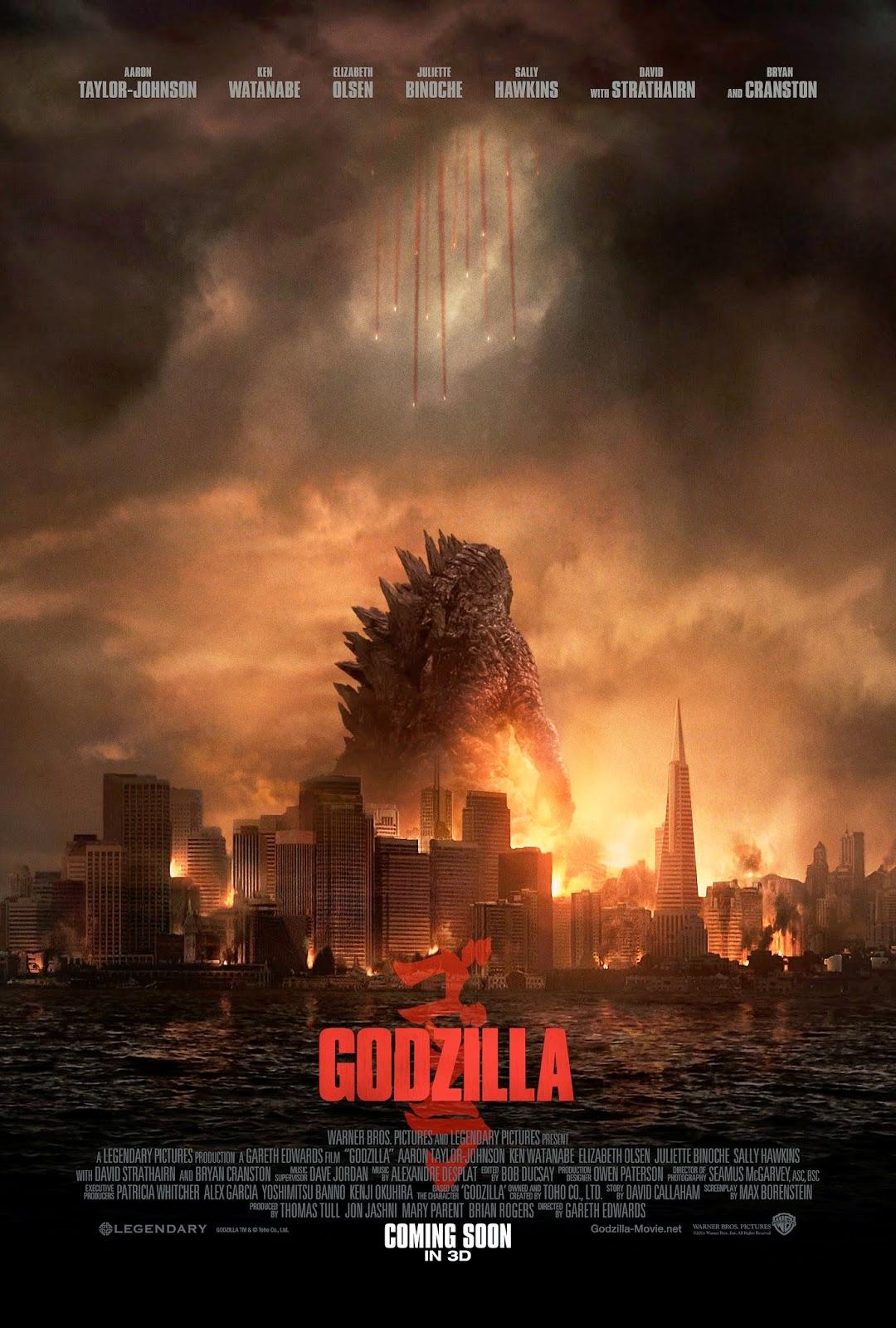 Poster de Godzilla (2014)