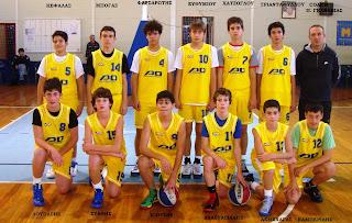 H αναπτυξιακή ομάδα αγοριών για το τουρνουά Βαρίκας 2-3 & 4 Ιανουαρίου
