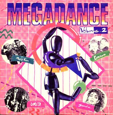 MEGADANCE - Volume.2 (non-stop dance mix) 1987 eurobeat italo disco hi-nrg 80's