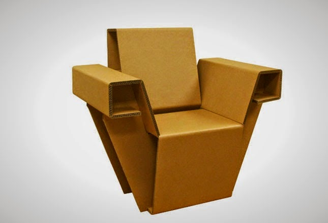 10 Meubles avec du Carton Recyclé, Partie II
