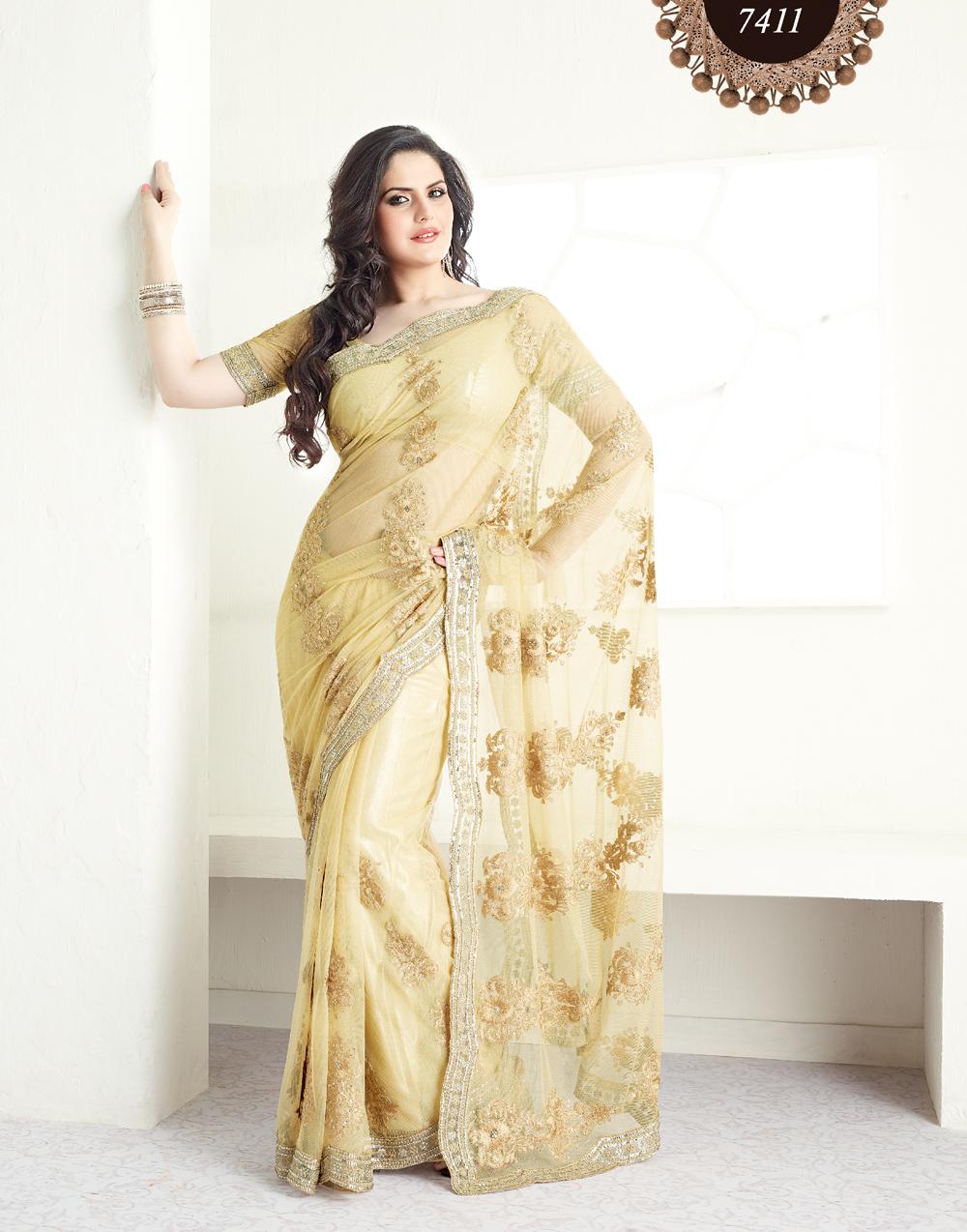 zarin khan in designers saree   missy lovesx3