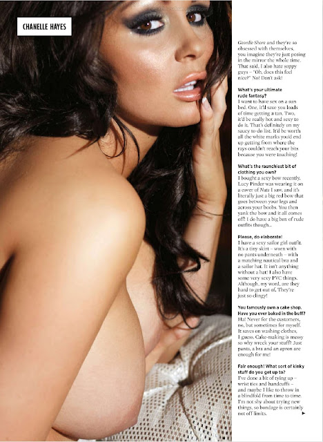 Chanelle Hayes - Nude For Nuts Magazine