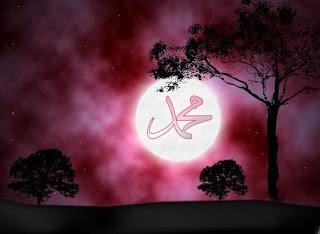 Sinar Wajah Nabi Muhammad Seperti Purnama