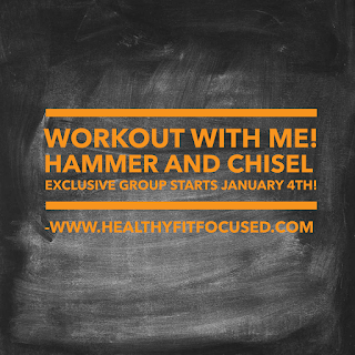 Hammer and Chisel Week 1 Review and Meal Plan, www.HealthyFitFocused.com, Julie Little Fitness
