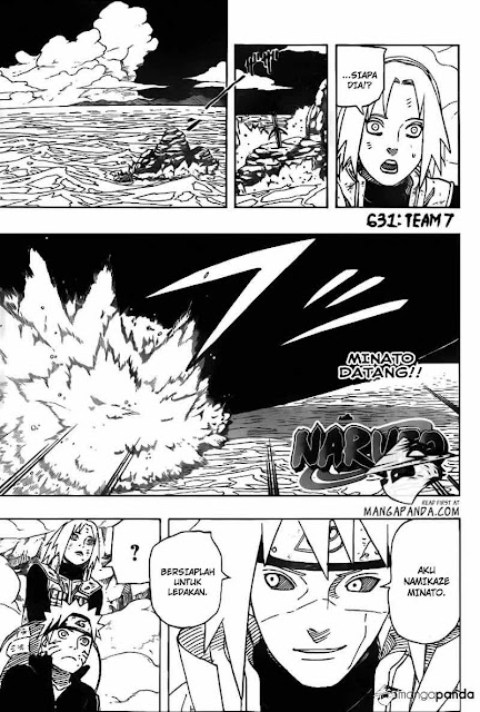 "Download Komik Naruto Chapter 631 ""Team 7"" Bahasa Indonesia"