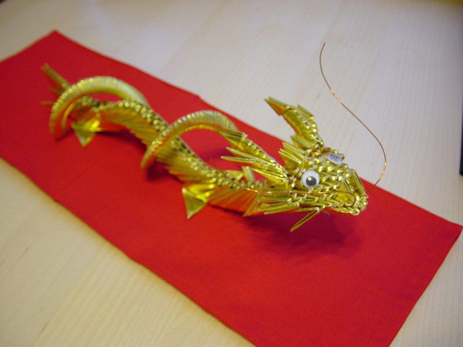 3d Scanner Image: 3d Origami Dragon