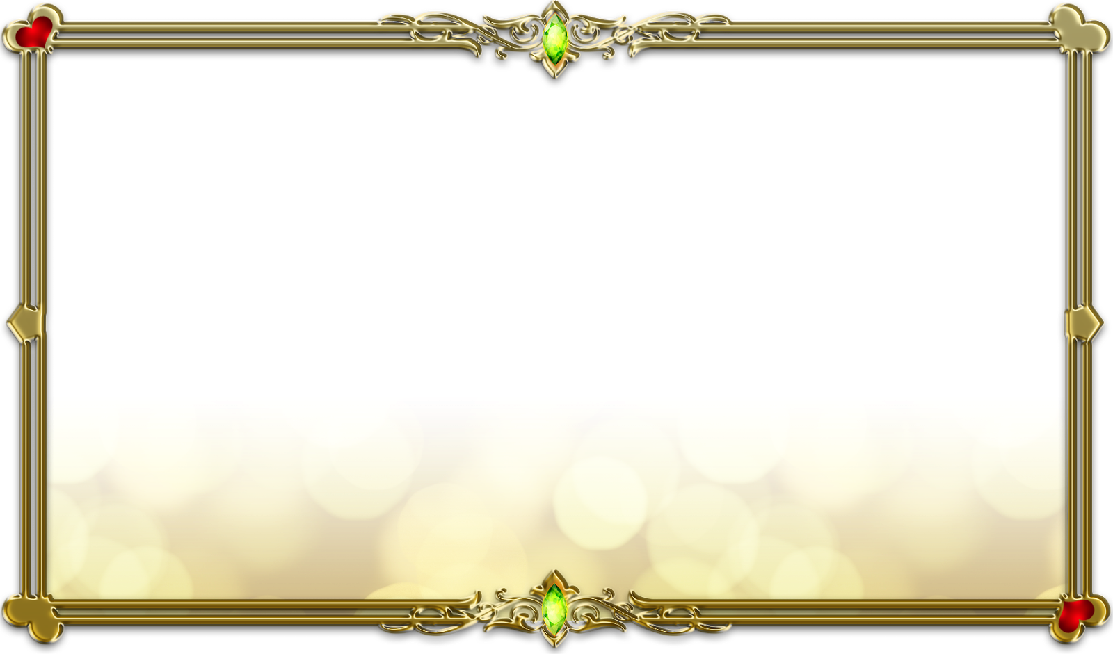 Gold Frames And Borders Png Gold Frame Borders
