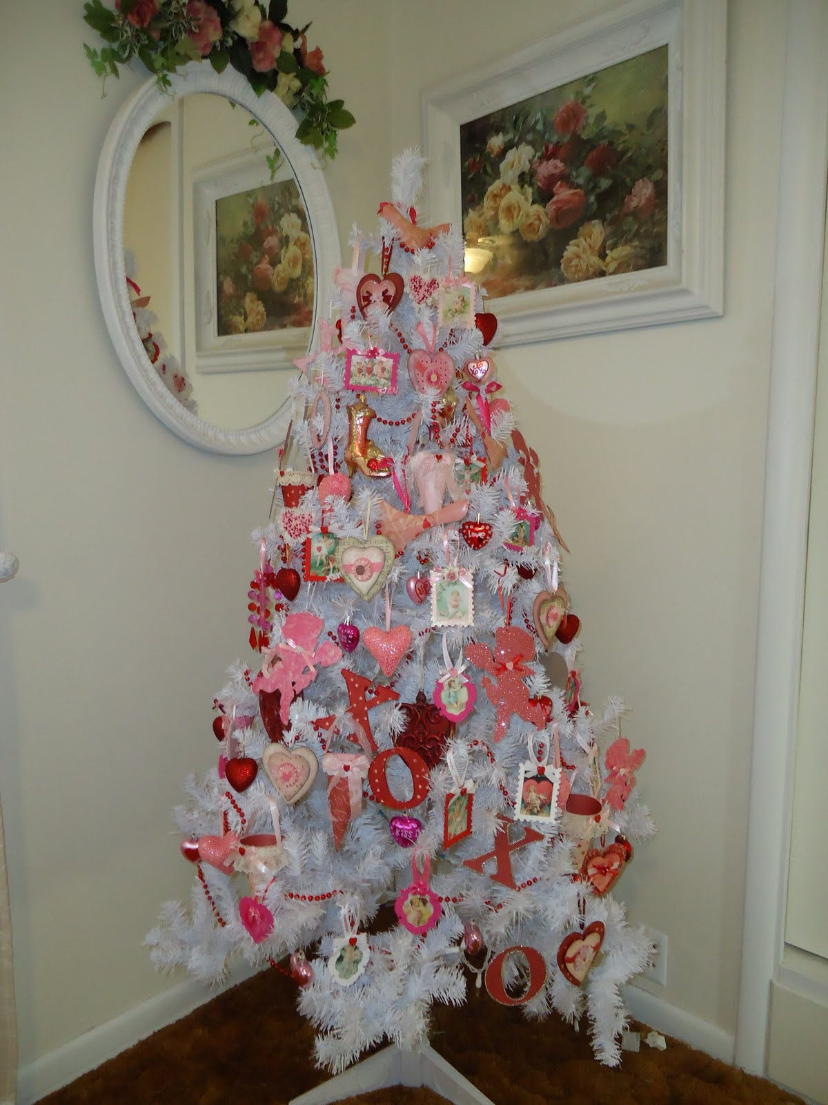 Tammy s heart white valentine tree
