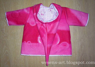 reversible winter baby jacket side 1back     wesens-art.blogspot.com