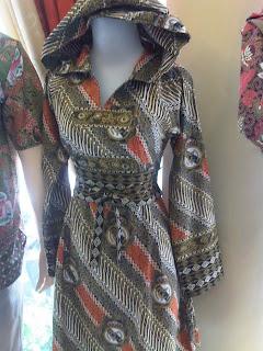jaket batik wanita