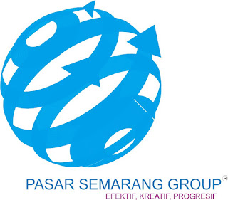 desain logo awal pasar semarang group