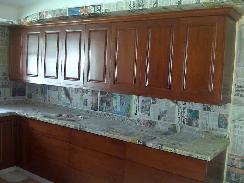 Gabinetes de cocina nica for Gabinetes de cocina