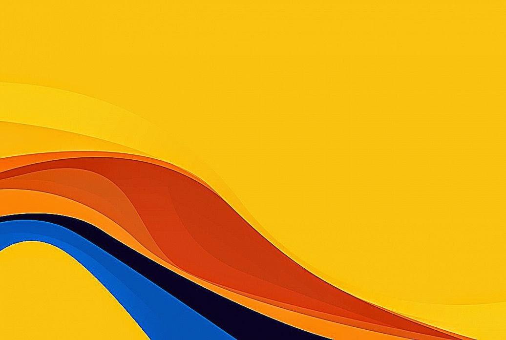 orange wave wallpaper - photo #31