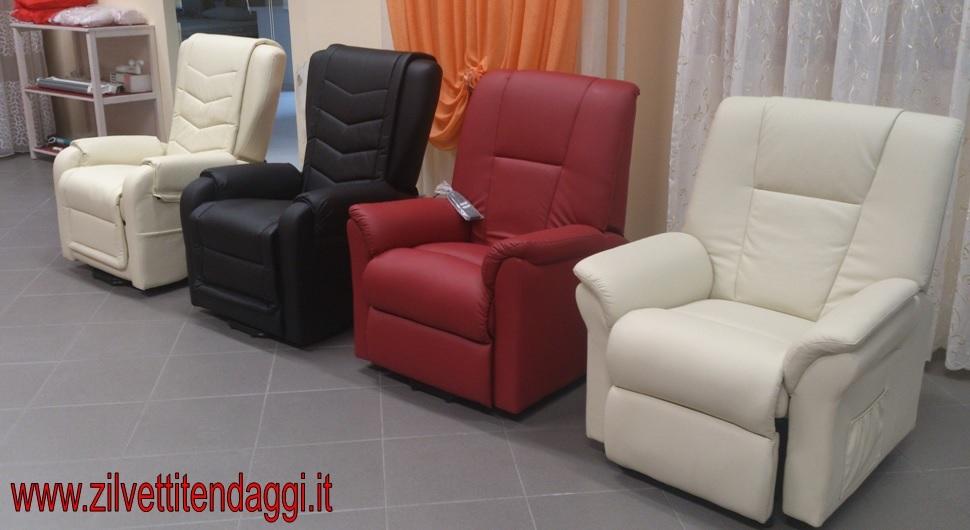 Tende materassi letti poltrone divani zilvetti tendaggi for Poltrone per disabili roma