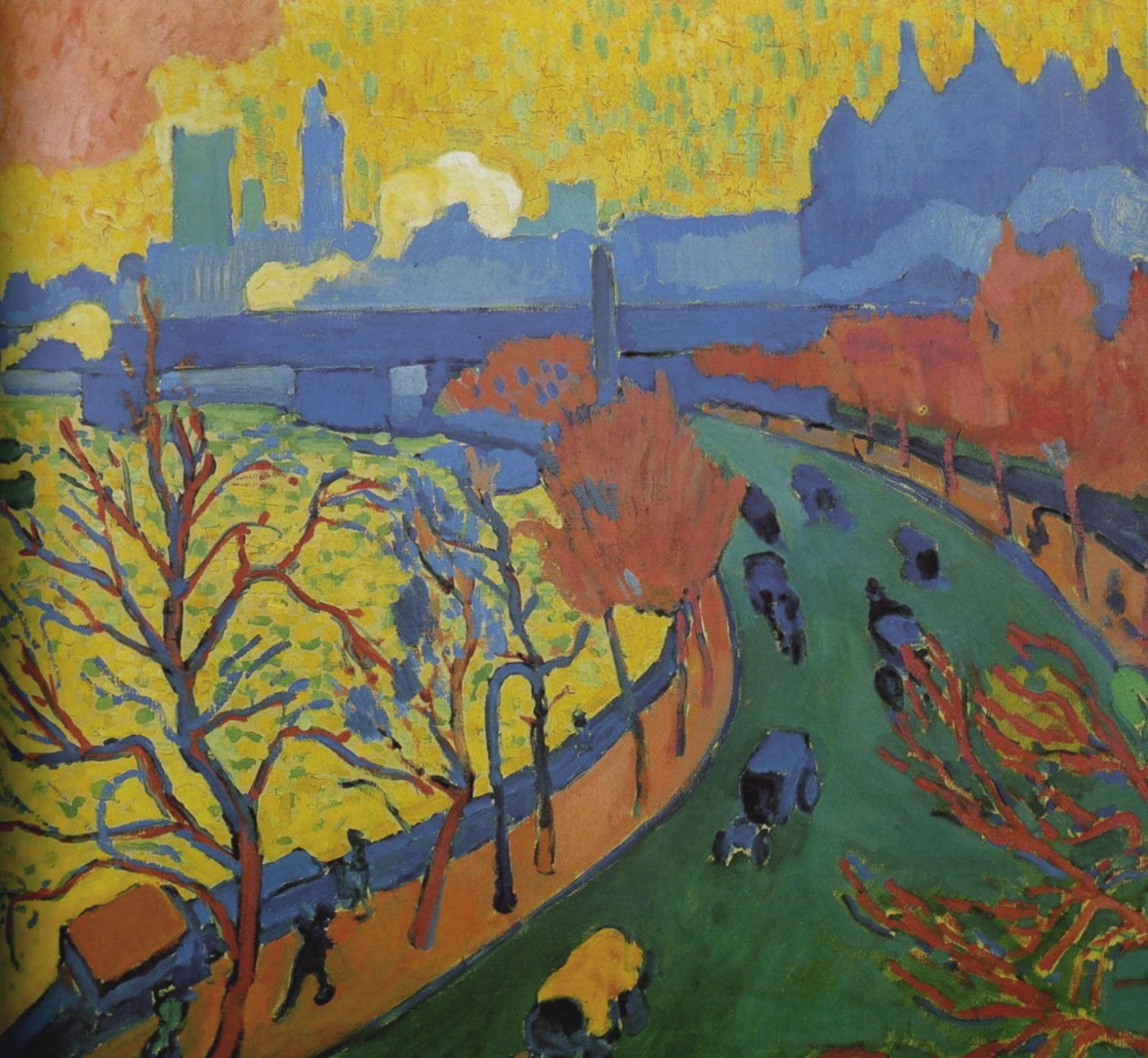 Andre Derain Charing Cross  ridge  Musee d Orsay