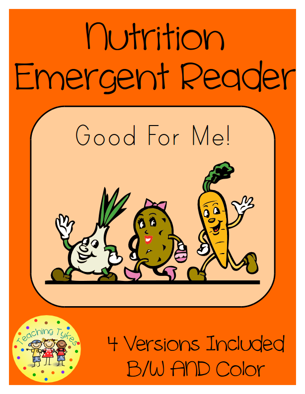 http://www.teacherspayteachers.com/Product/Nutrition-Emergent-Reader-Common-Core-Aligned-1573249