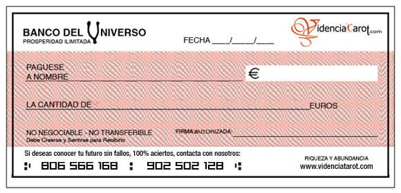 Cheque Abundancia Noviembre 2015