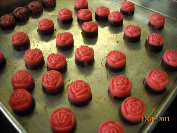 strawberry chocolate untuk hantaran