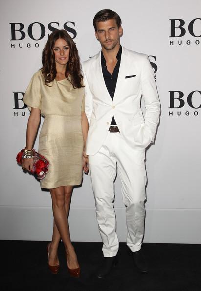 Johannes Huebl y Olivia Palermo Hugo Boss