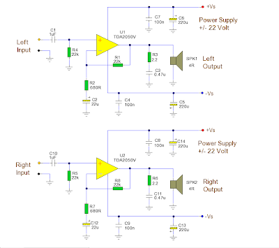 Amplifier Circuit Diagram