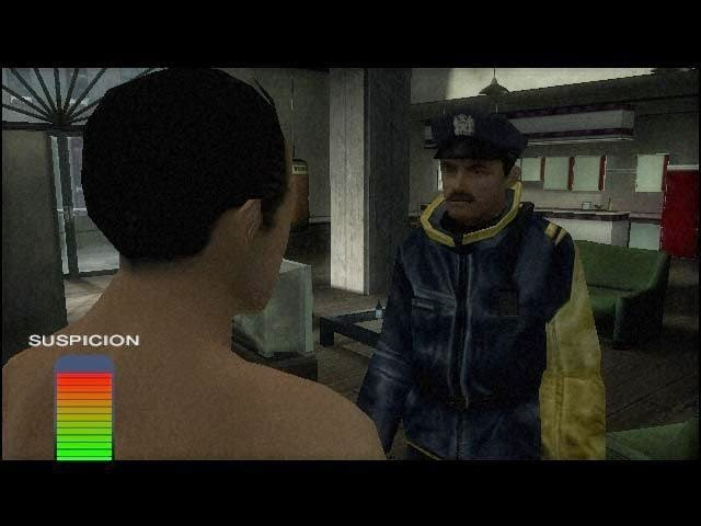 Fahrenheit Indigo Prophecy police interrogation