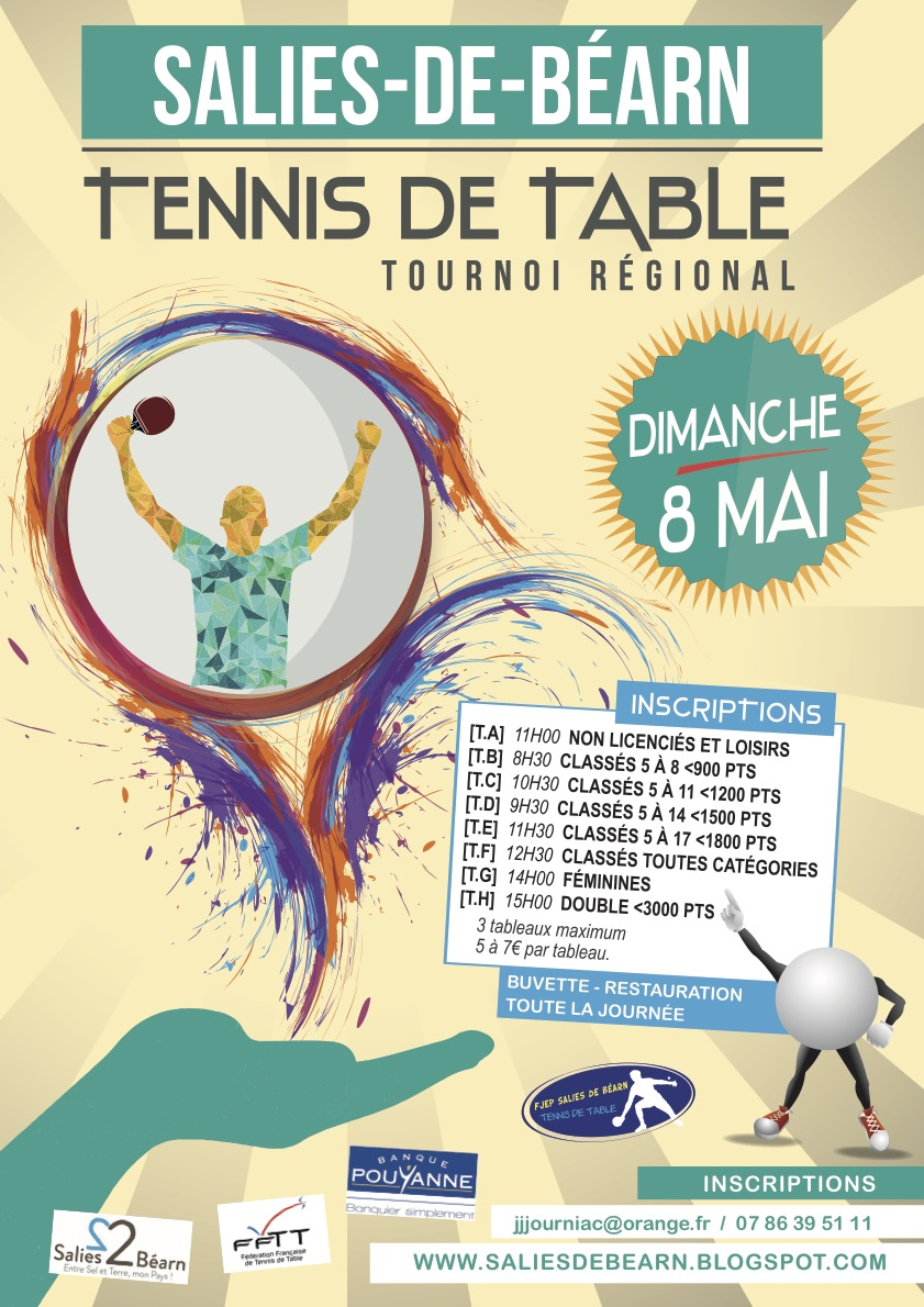 Salies de b arn tennis de table - Tennis de table classement individuel ...