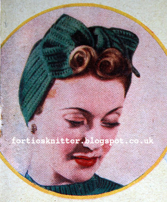 The Vintage Pattern Files 1940s Knitting Knit Yourself A Turban