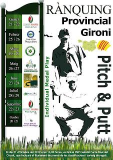 Rànquing Gironi de P&P 2012