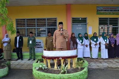 Kakankemenag Tanjungbalai Buka UASBN Tingkat Madrasah Tsanawiyah