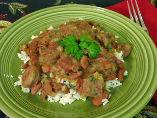 Red Beans and Rice from Soup Spice Everything Nice