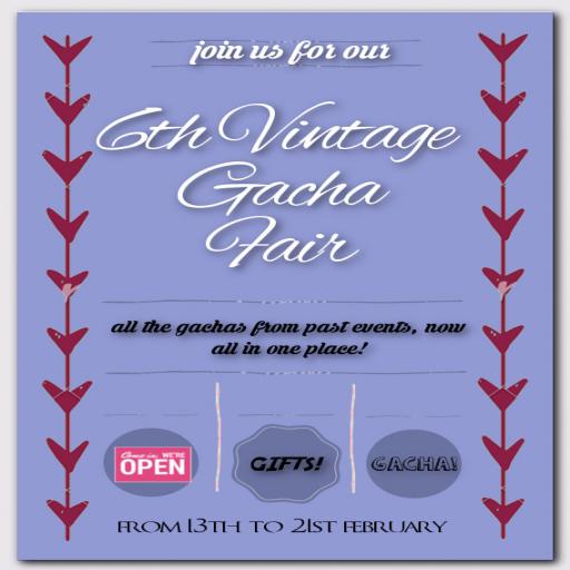 6th Vintage Gacha Fair
