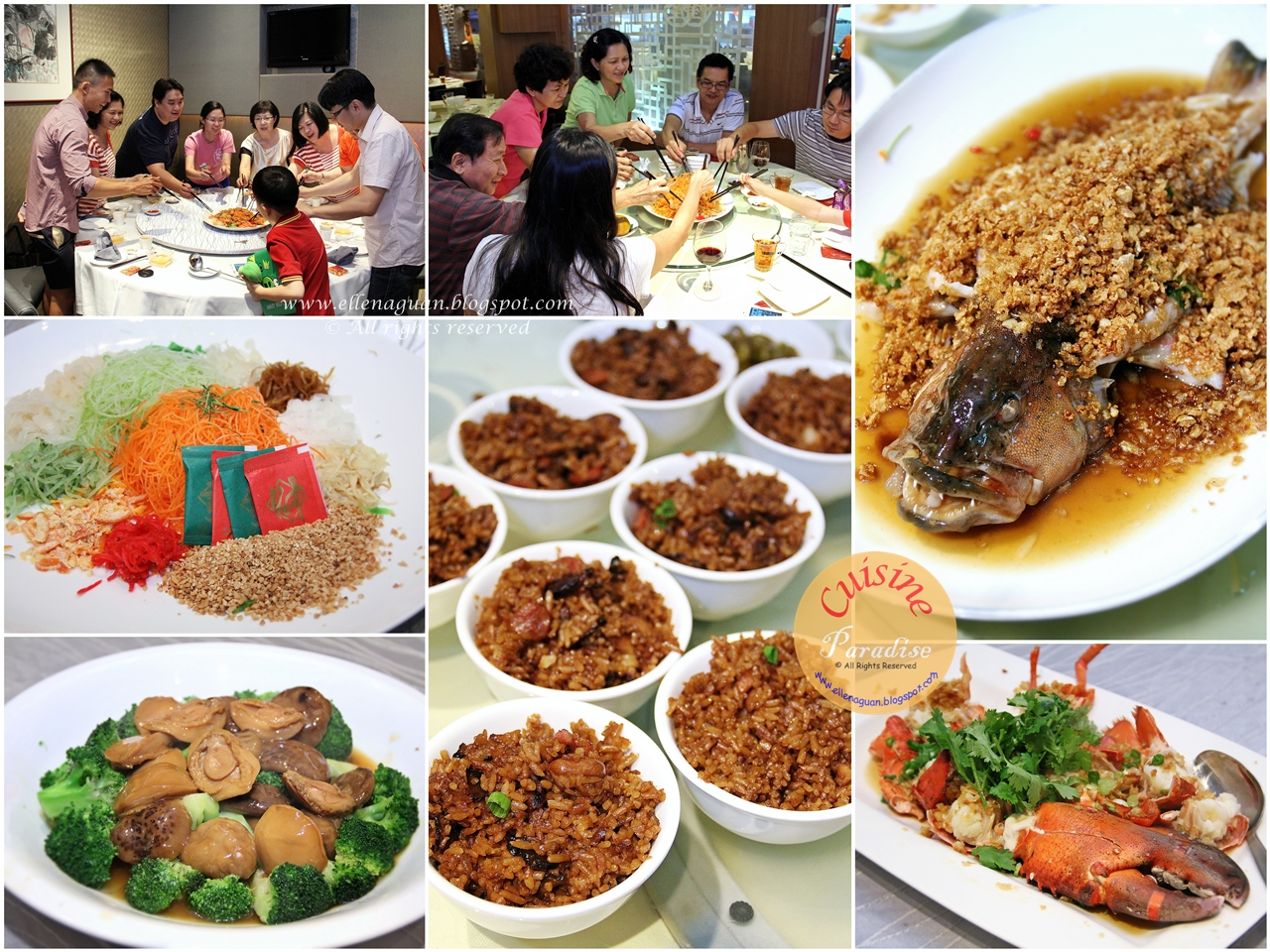 our 2013 lunar new year reunion dinners recipe recipes - Chinese New Year Food Recipes