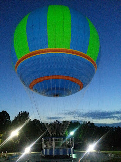Wonders of Flight in Pigeon Forge, Hot Air Baloon Ride