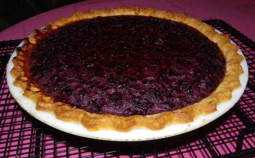 gardenchat: Cherry Mash and Custard Pie Recipe