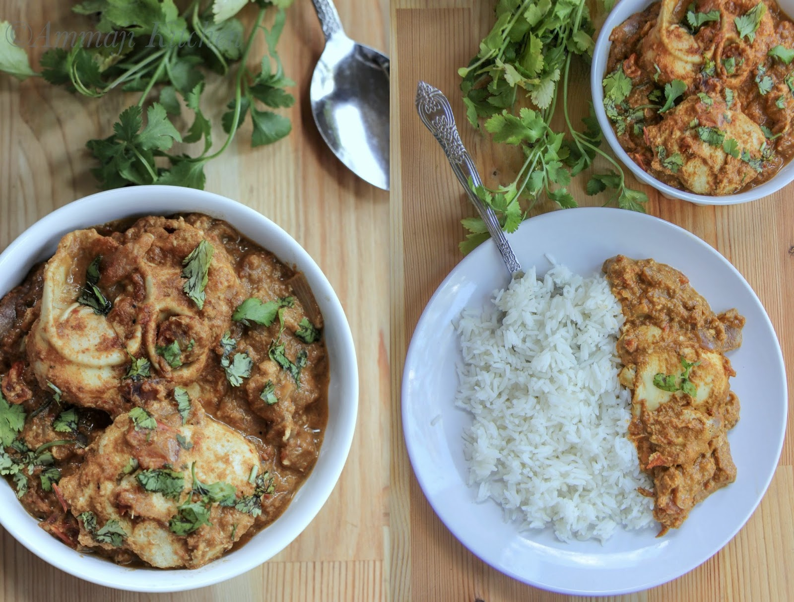 Goan Egg Drop Curry