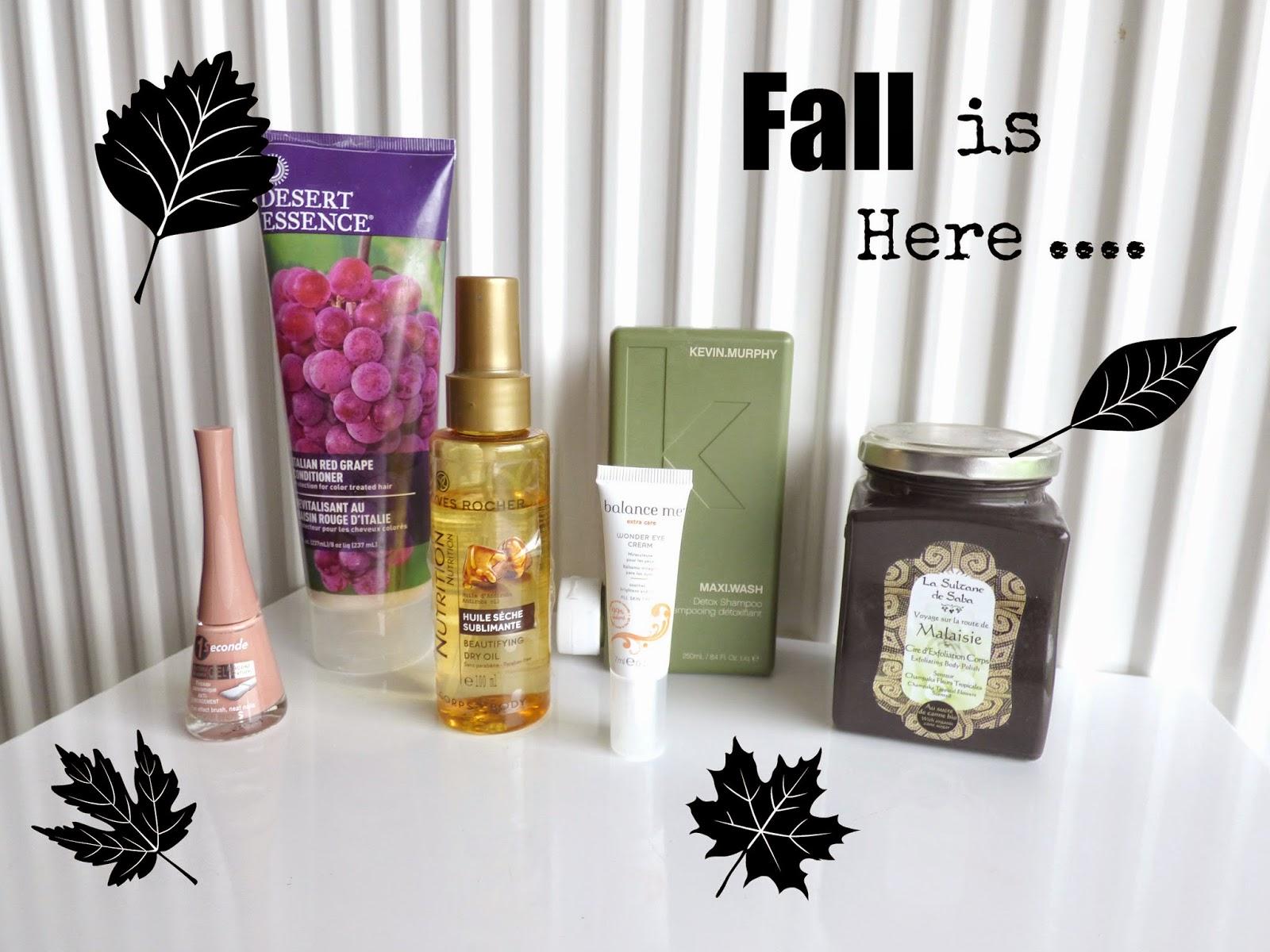produits automne