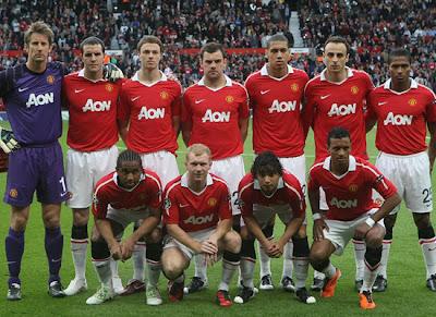 Manchester United Squad Champions League