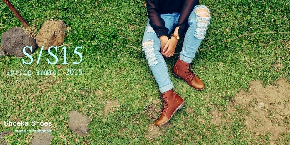 Sepatu Boots Shoeka Shoes