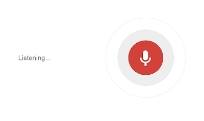 Google Voice Search Listenting
