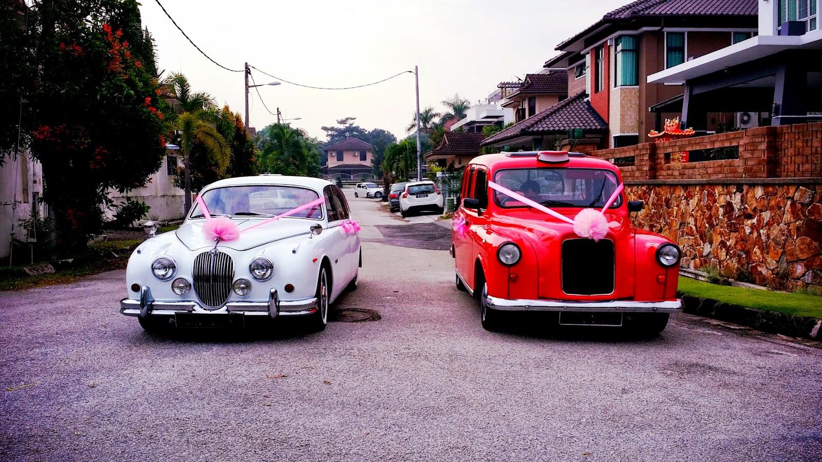 RedOrca Malaysia Wedding and Event Car Rental: Classic wedding cars ...
