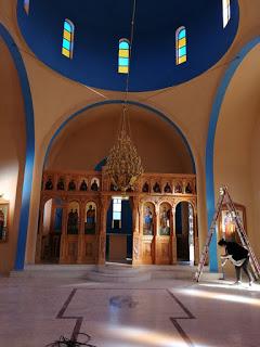 Ολοκληρώθηκε η ανακαίνιση του κοιμητηριακού Ιερού Ναού των Αγίων Θεοδώρων