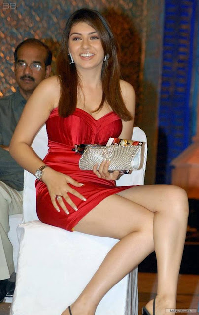 Hansika Motwani in Red Dress1 - Hansika Motwani Hot in Red Dress