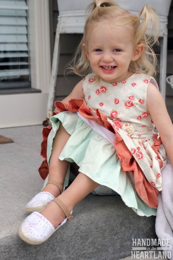 Saturday Style: Little Girl Ellie Dress by Persnickety Clothing