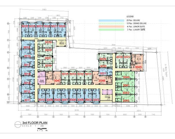Hotel Bedrock Bali Hot Investment In Bali Site Plan