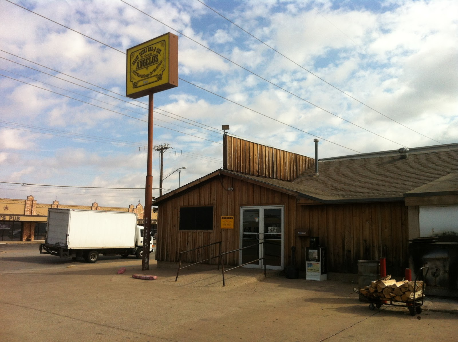 Angelo Fort Worth BBQ Barbecue Barbeque Bar-B-Que Texas