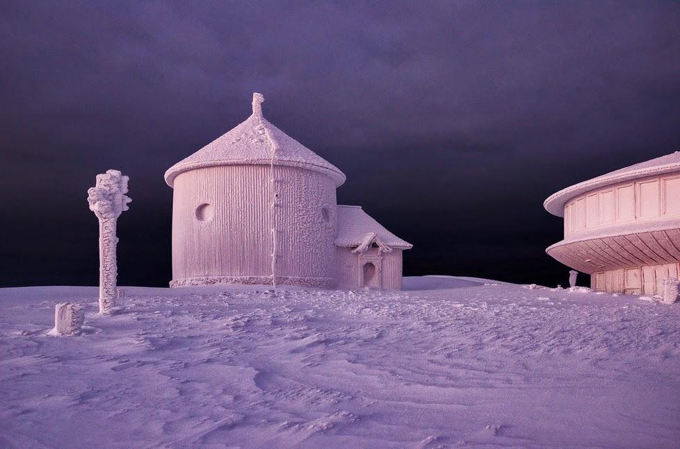 Beautiful Winter in The Karkonosze Mountains, Poland