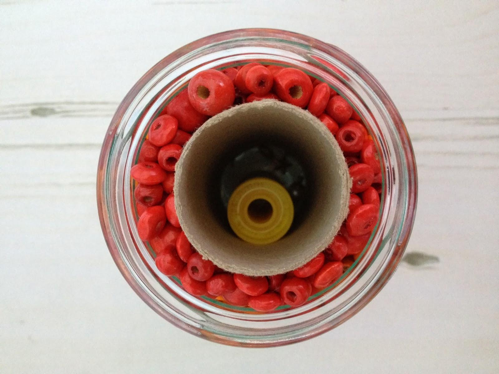 Secret Compartment Bead Jar